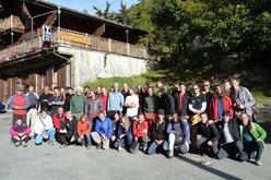Il gruppo del primo International Trad Climbing Meeting